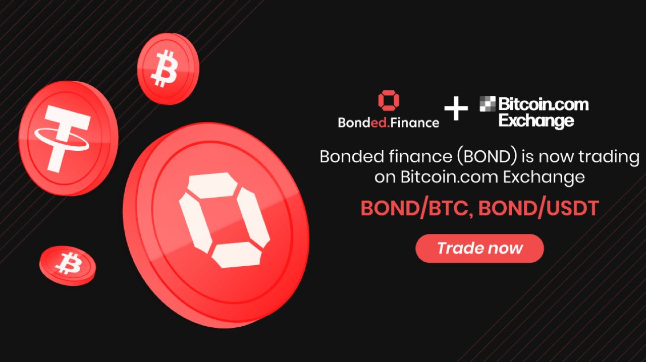 Bonded.Finance (BOND) Token Is Now Listed on Bitcoin.com Exchange