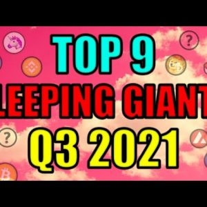 """Top 9 """"SLEEPING GIANT"""" Cryptocurrency Altcoin Projects! Best DeFi Investments 2021 