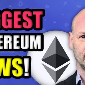 ETHEREUM HODLERS...CAN'T BELIEVE THIS IS HAPPENING!