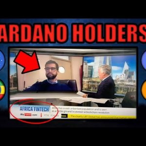 REVEALED: CARDANO'S MASSIVE AFRICA DEAL (NEW INFO)! ADA CRYPTOCURRENCY INVESTORS BE READY!