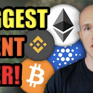 The BIGGEST Event in Cryptocurrency History Just Triggered 2021 Bitcoin Bulls!! | Coinbase on NASDAQ