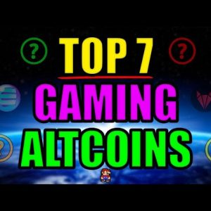 Top 7 GAMING Altcoins Set to Explode in 2021 | Best Cryptocurrency Investments April 2021?