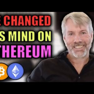 Michael Saylor Changes His Mind on Ethereum! Bitcoin & Ethereum set to EXPLODE in 2021! Crypto News