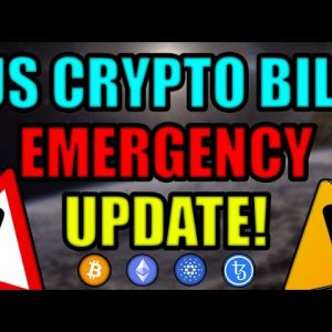 EMERGENCY UPDATE: BIG CHANGES TO US INFRASTRUCTURE BILL IN LAST 24 HOURS! LAST CHANCE CRYPTO HOLDERS