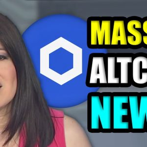 MASSIVE ALTCOIN NEWS YOU MAY HAVE MISSED!! | CRYPTOCURRENCY NEWS